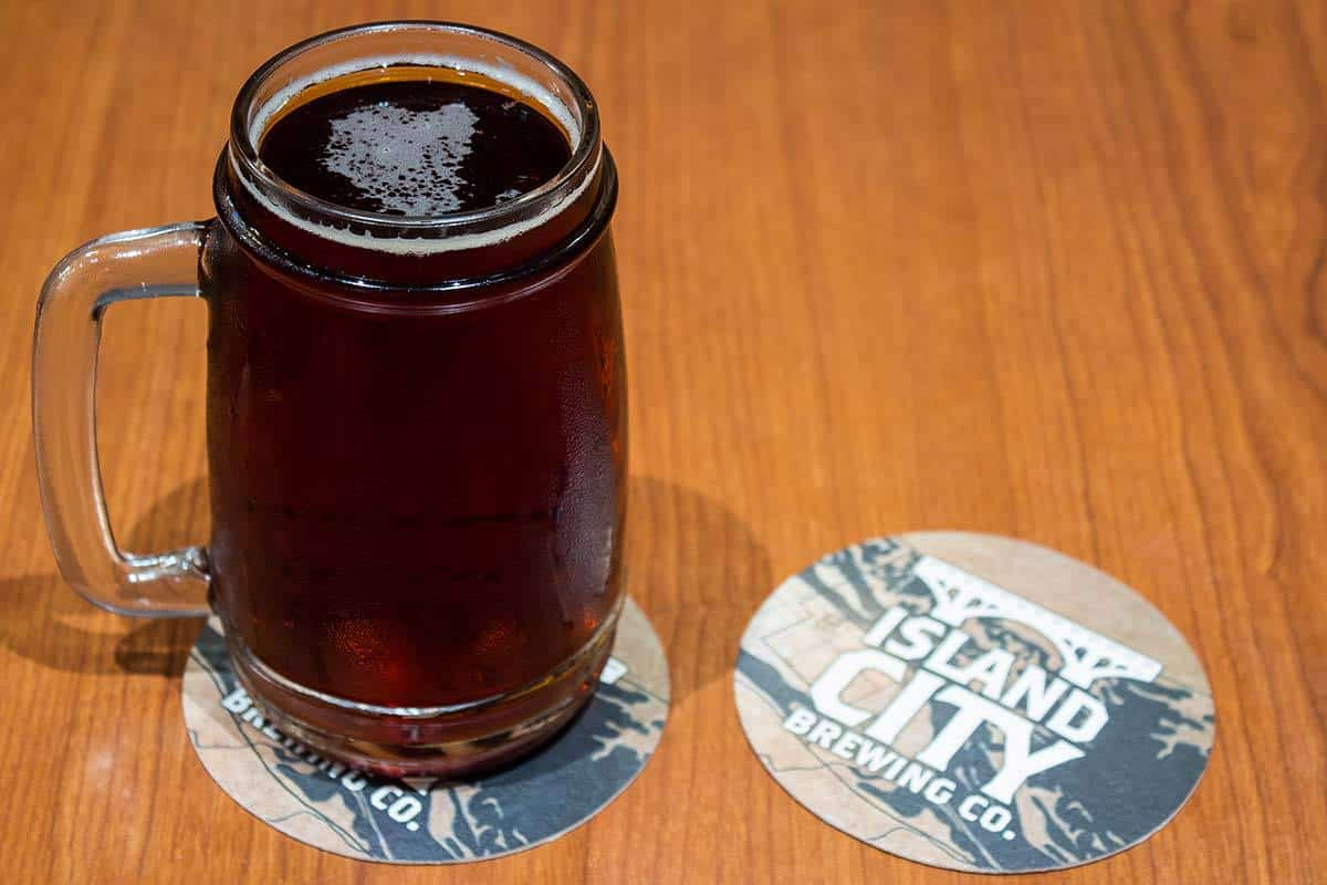 Island City High Forest Red Lager